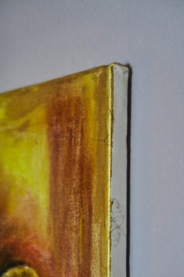 Bild A few Pastellkreide auf Leinwand