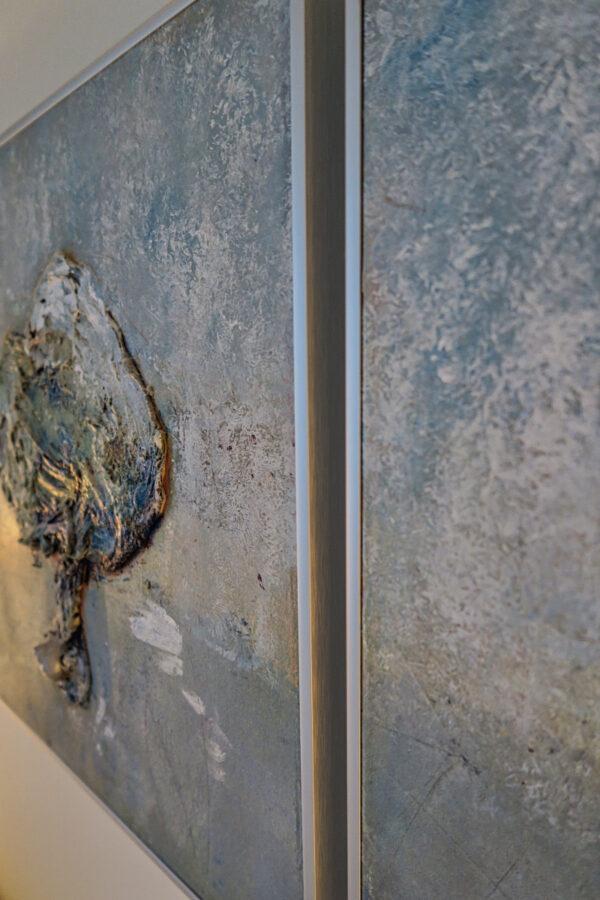 Bild Bäume Acryl auf Leinwand