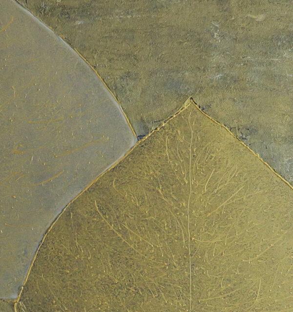 Bild Blätterzauber Acryl auf Leinwand