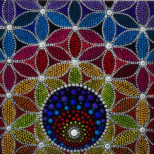 Mandala Blume des Lebens