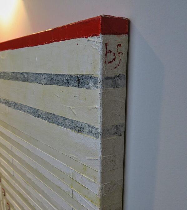 Bild Ecken und Kanten Acryl auf Leinwand