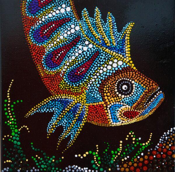 mandala fisch