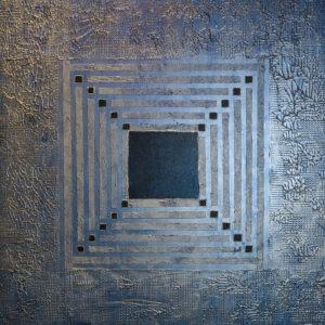 Bild Mitte Acryl auf Leinwand