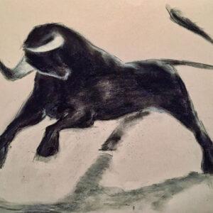 Bild Torro Pastellkreide auf Papier